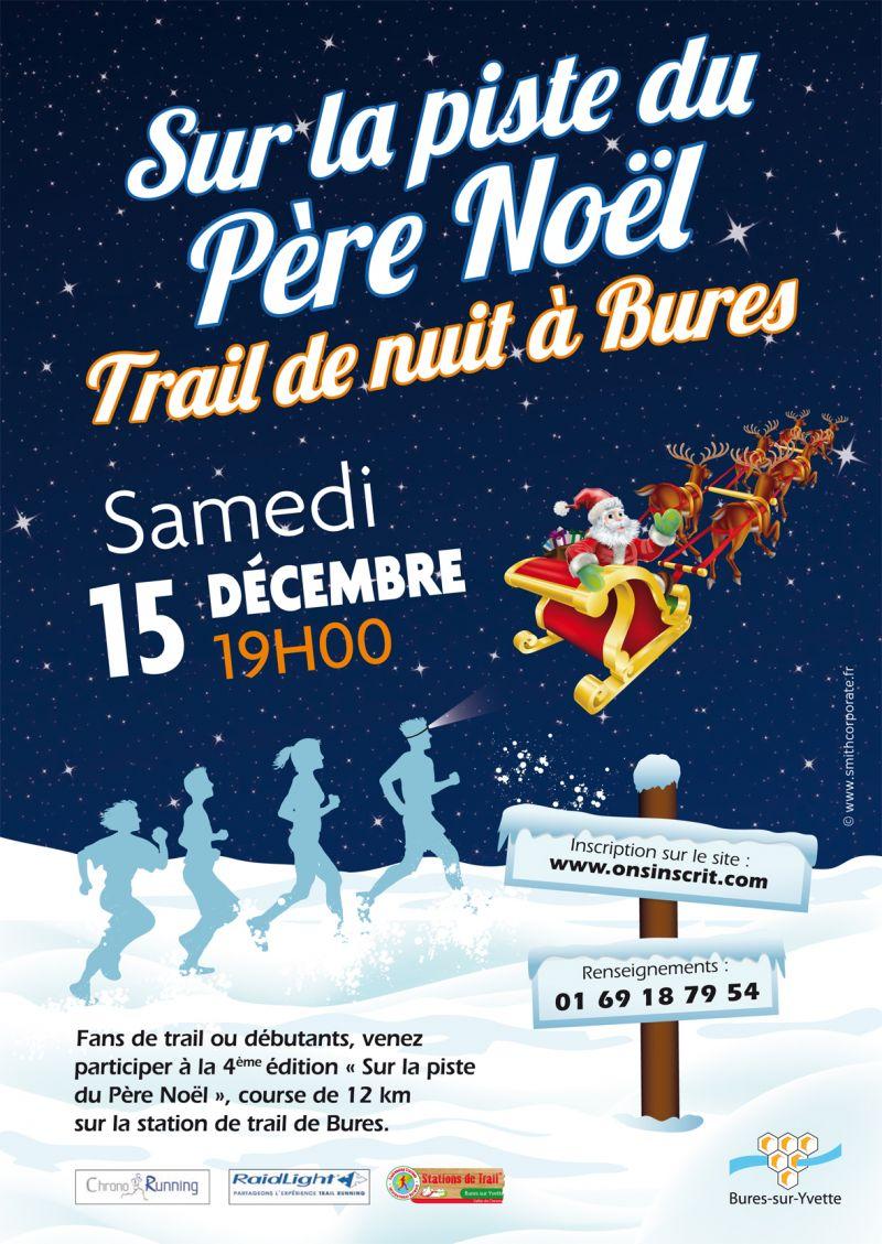 Image Pere Noel En Ski.Trail Sur La Piste Du Pere Noel 2018 Bures Sur Yvette